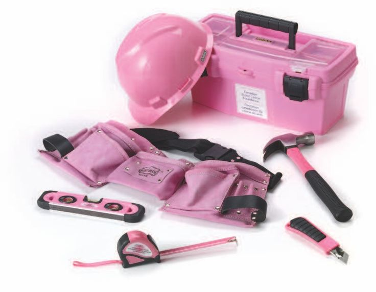 Landmark presents 'The Power of Pink' hardware accessories. A portion of the sales from Landmark's 'The Power of Pink' hardware accessories will be donated to the Canadian Breast Cancer Foundation. 'The Power of Pink' tool belt, hard hat, tool box and pink hand tools are available at Home Hardware Stores in Canada.