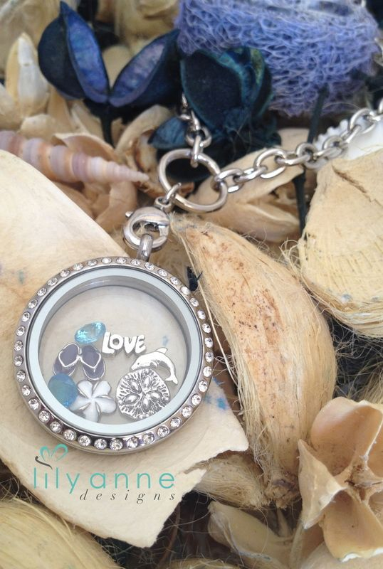 Create your Own Personalised Locket - Lily Anne Designs www.lilyannedesigns.com.au/marinabernard