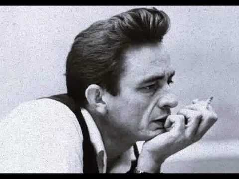 Johnny Cash - I Won't Back Down - YouTube   simply love that baritone voice...