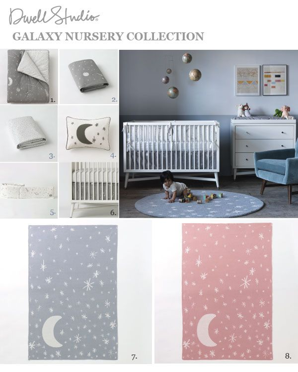 DwellStudio Galaxy Nursery Collection                                                                                                                                                                                 More
