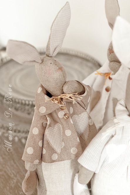 Tilda rabbits handmade
