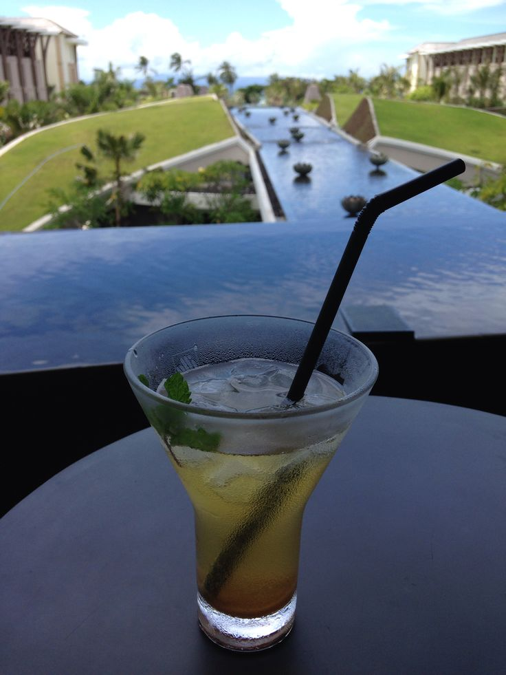 Welcome drink and a spectacular view at brand new Sofitel Bali