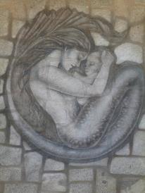 Sirena en el Quisco.