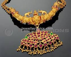 Antique real necklace