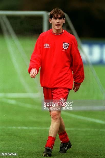 Aston Villa's Gareth Barry training with the England squad for the first time