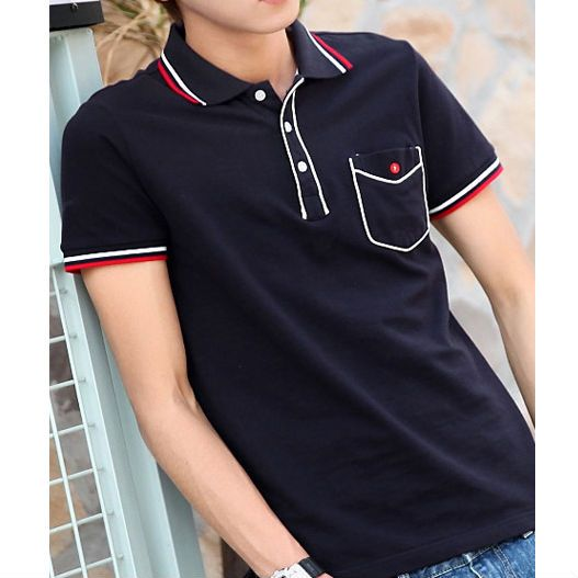 Polo t shirts design color combination polo t shirt for Two color shirt design