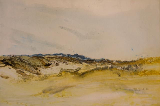 """""""Namibian Landscape 03"""" by Melanie Meyer from her Emergence Art Gallery in Cape Town"""
