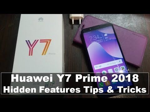 Huawei Y7 Prime 2018 - Hidden Features, Tips & Tricks