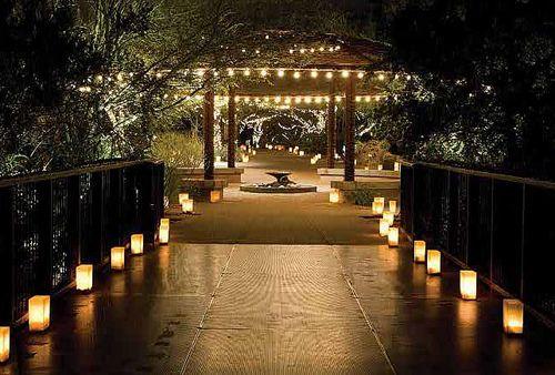 luminarias! proposal idea?! (: