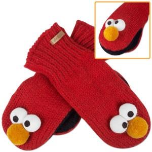 Elmo mittens