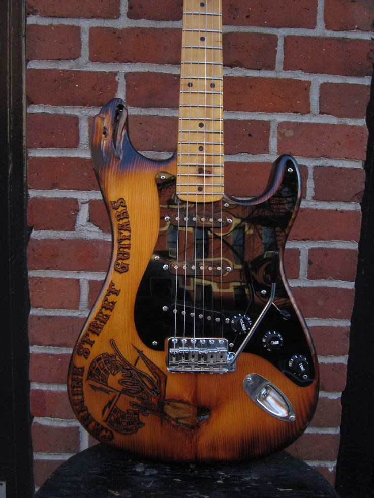 Movie Eaglecaster for the new Ron Mann film on Carmine Street Guitars.