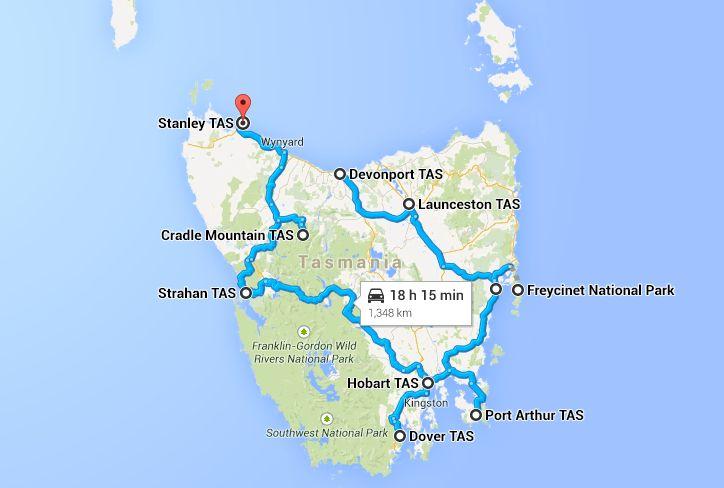 Tasmania Road Trip