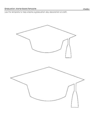 photo regarding Printable Graduation Cap Pattern titled Similar Illustrations or photos Printable Commencement Cap Stencil