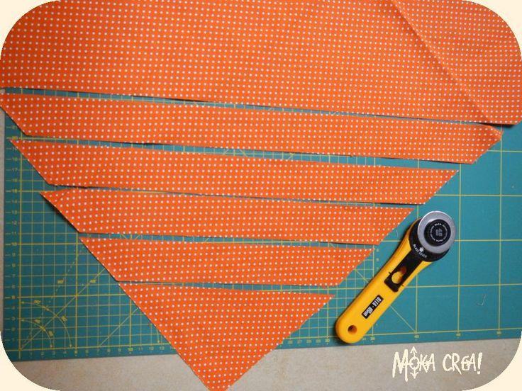 Tutorial: come fare lo sbieco con qualunque pezzo di stoffa