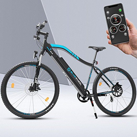 Bluewheel Profi E Bike 2018 Mit Smartphone App E Mtb Mountainbike Herren Pedelec Elektro Fahrrad Mit 250w Bafang Heckmotor 13ah Akku 21 Ga Pedelec E Bike E Mtb