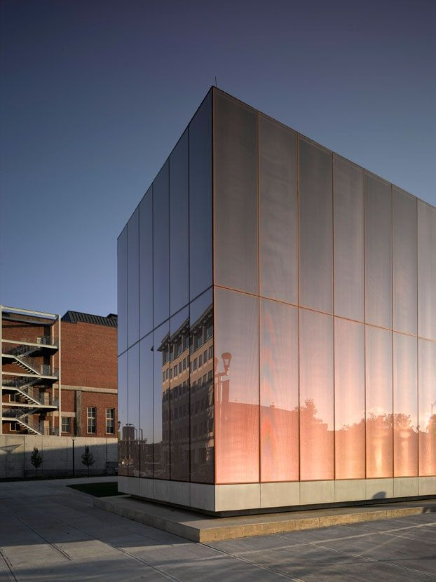 David chipperfield architect des moines public library facade ...