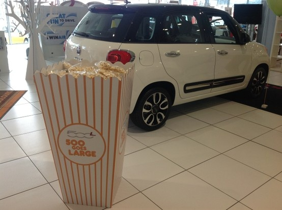 The Fiat 500 goes large at Essex Fiat with the new Fiat 500L.