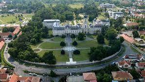 Image result for Keszthely, Festetics-kastély és Georgikon