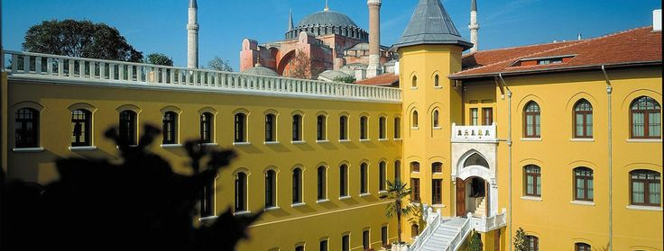 Four Seasons Istanbul at Sultanahmet - This was originally built as a prison and was featured in the movie, Midnight Express. Not a bad place to serve time these days!