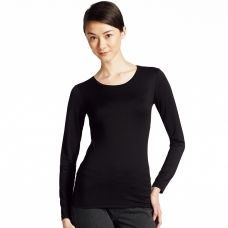 WOMEN HEATTECH Crew Neck T-Shirt