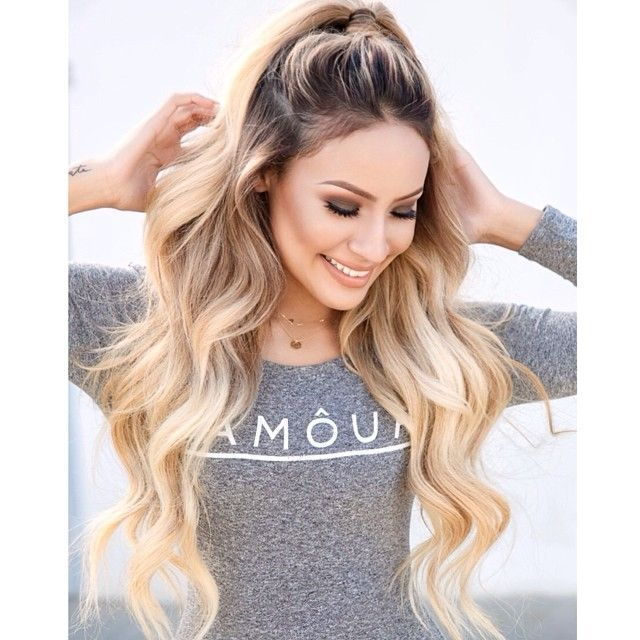 Absolutely love her hair! Desi Perkins. One of my favorite for youtube makeup tutorials.