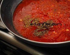 Makarna sosu Nasıl Yapılır? Makarna sosu Yapılışı yapımı hazırlanışı kolay pratik resimli denenmiş oktay usta Makarna sosu tarifi