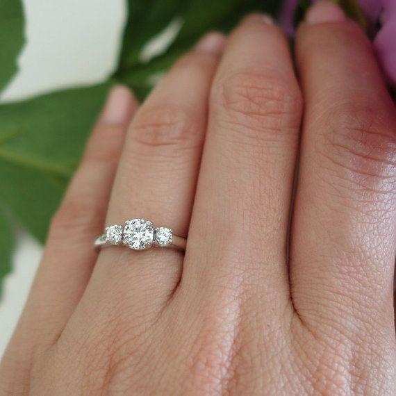 tiger gemstones handmade engagement rings bridal inspiration
