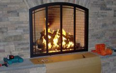 Open Fireplace Doors Five Reasons To Install Glass Fireplace Doors   Fireplace
