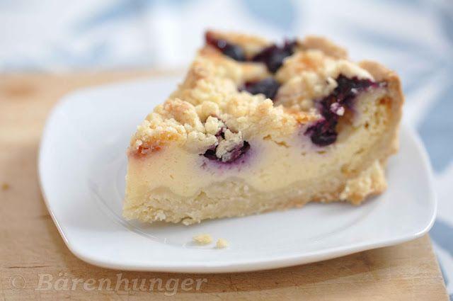 Kleine Kuchen - Topfen-Heidelbeer-Kuchen