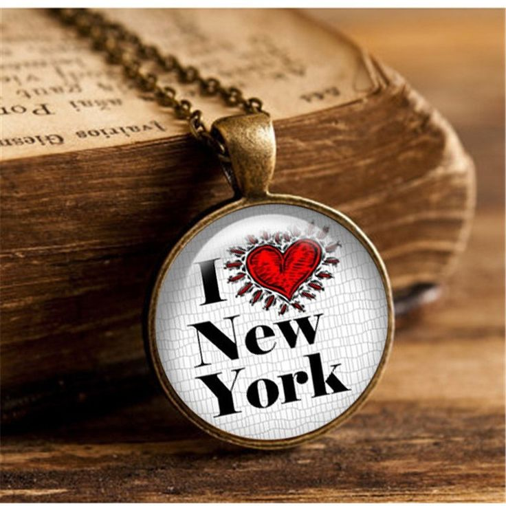 New York Souvenir Chain Necklace-SouvenirPapa