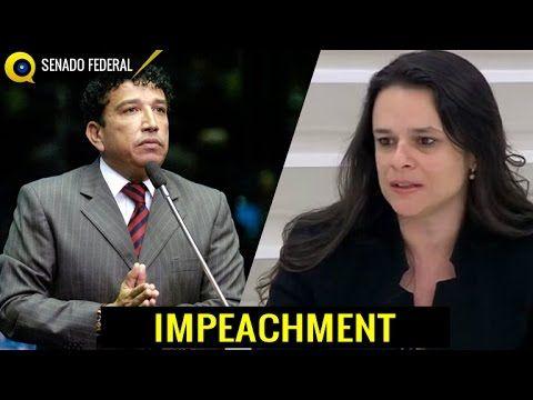 Comissão Impeachment Senado - Senador Magno Malta Vs Janaína Paschoal - ...