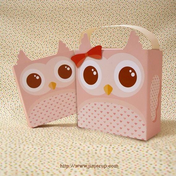 Cute DIY printable gift boxes