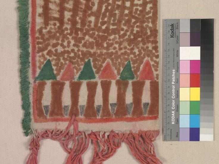 Сумка для трубки из муслина, Брюле  Сиу. 1910 год. Вид 3.