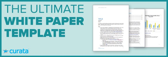 The Ultimate White Paper Template Free Download Content - white paper template