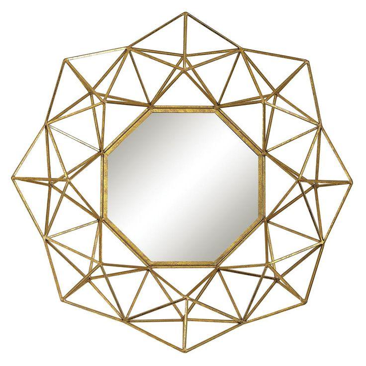 Geometric Wall Mirror 56 best wall mirrors images on pinterest | mirror mirror, wall
