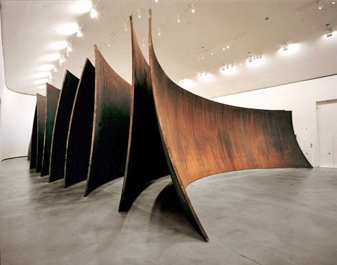 Gehry meets Richard Serra. Between the Torus and the Sphere (Toruaren eta esferaren artean). 2003-2005 - Guggenheim Museum