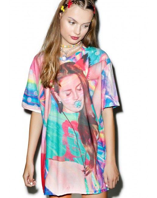 Lawna Del Rave T-Shirt | Dolls Kill
