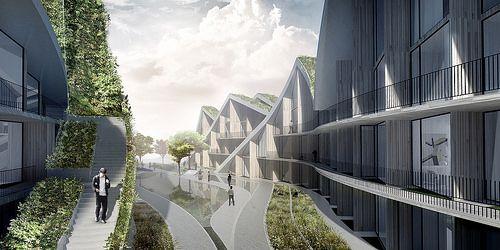 BIG - Bjarke Ingels Group - Hualien Resort - rendering