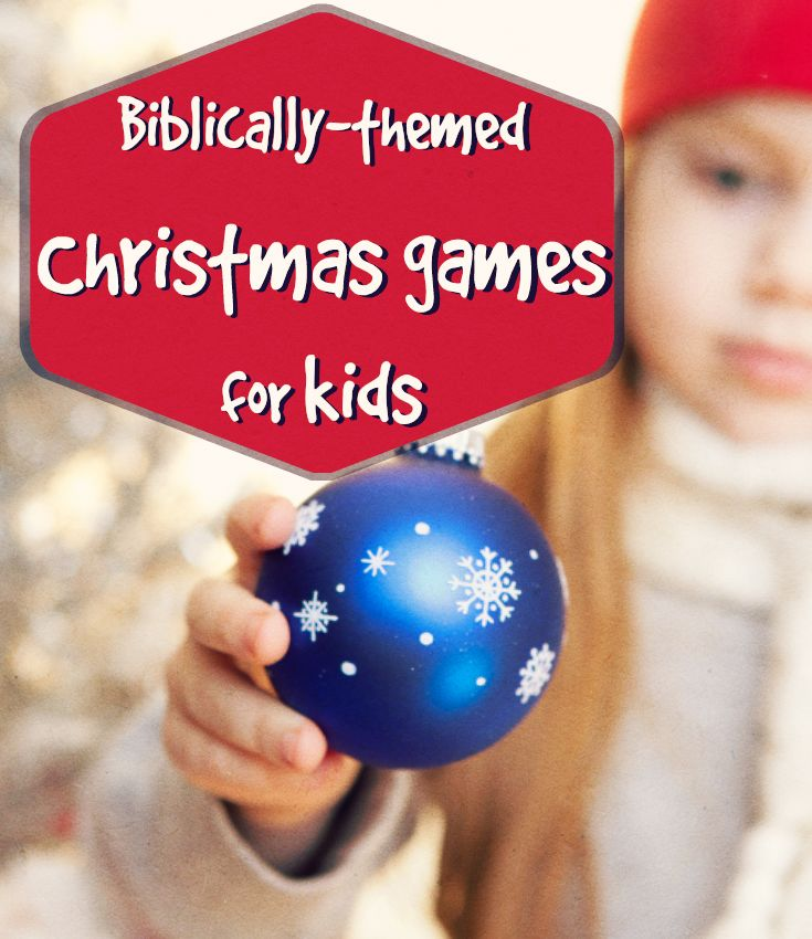 Sunday School Christmas Party Games