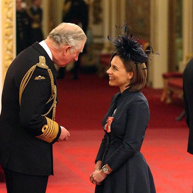 Proud day for the team as Claire Williams receives an OBE at Buckingham Palace following being announced in the Queen's 2016 Birthday Honours List.