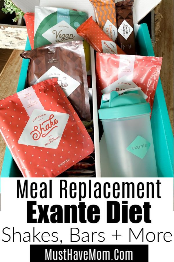 Exante Diet Must Have Mom Top Mom Blogger Meal Replacement