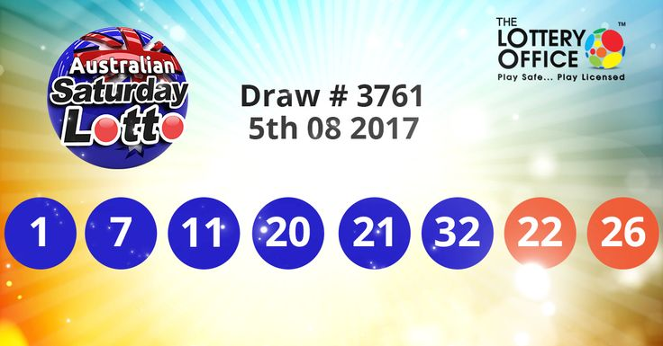 Australia Saturday Lotto winning numbers results are here. Next Jackpot: $4 million #lotto #lottery #loteria #LotteryResults #LotteryOffice