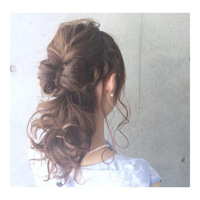 最新!二次会ヘアカタログ♡の3枚目の写真 | マシマロ