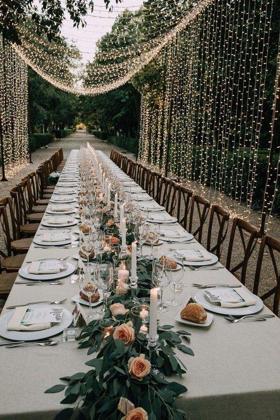 Elegant Garden Destination Wedding In Spain