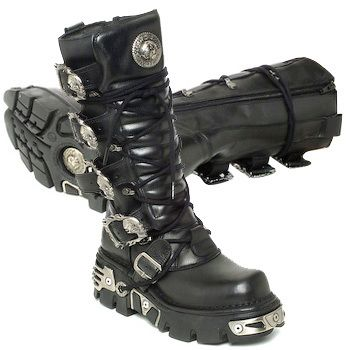 "New Rock ""Sublime Nightmare"" #boots #rangers"