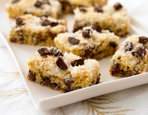 The Biggest Loser : Decadent Date, Chocolate & Coconut Bars - low-calorie & low-fat!these were those squares I made at Christmas that you liked