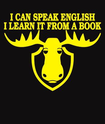 I Can Speak English, I Learn It From a Book - Fawlty Towers - Funny T-Shirt