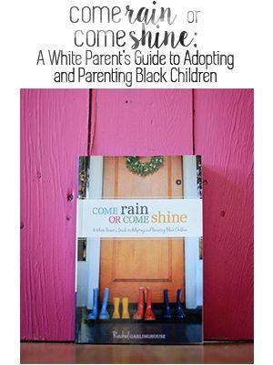 A great lists of transracial adoption books.