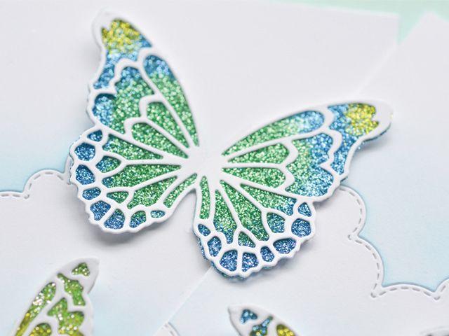 Glitter Inlay Technique