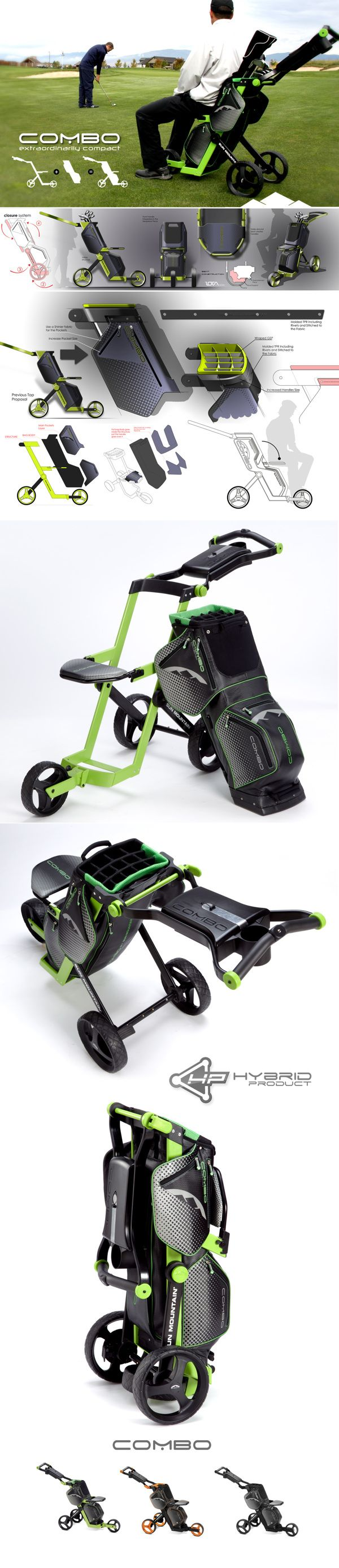 SUN MOUNTAIN Combo Cart on Behance Designed by IOTA Design